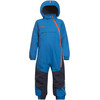 Bergans Snøtind Insulated Kids Coverall Light Sea Blue Navy Koi